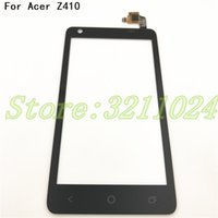 Wholesale mobile phone glass replacement resale online - 100 Tested quot For Acer Liquid Z410 New Front Panel Touch Screen sensor Mobile Phone Glass Display Replacement Digitizer Tools