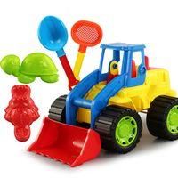 Wholesale toy shovels for sale - Group buy 5pcs set Kids Beach Sand Game Toys Set Shell Tortoise Shovels Rakes Truck Hourglass Kids Beach Water Pool Sand Toys Kits