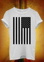 mulheres de colete de bandeira americana venda por atacado-Bandeira americana dos Estados Unidos Retro Dos Homens Das Mulheres Unisex Camiseta Tank Top Vest 518