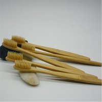 Wholesale uses toothbrush resale online - For Family use Environmental Bamboo Toothbrush Oral Care Teeth Brushes Eco Soft Natural Brush Bamboo Handle