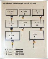 dvd ic venda por atacado-6,2 polegadas 7 polegadas 8 tela de toque tela de navegação capacitiva universal DVD navegação do carro IC: GT911 6 pinos