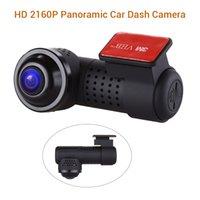 dvr spor kameraları toptan satış-Araba DVR Kamera HD 360 Derece Panoramik Kamera Blueskysea Çizgi kam G-Sensörü WIFI Spor 2160 P Sony IMX326 Sürüş Kaydedici