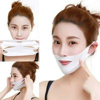 Wholesale facial slimming mask resale online - Facial Thin Face Mask Slimming Bandage Skin Care Belt Shape Lift Reduce Double Chin Face Mask Face Thining Band DHL