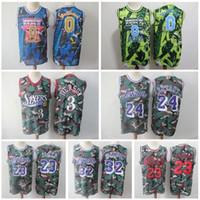 50502f66e84 Wholesale magic johnson jersey for sale - Woodland Camo Jersey Mitchell  Ness Kobe Bryant Allen Iverson
