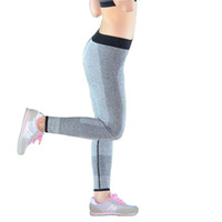 Wholesale tight sexy yoga pants online - Women Sexy Pants Summer Yoga Leggings Female Outdoor Sports Running Training Pants High Stretch Tight Buttocks Bodysuit Pants