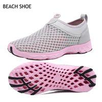 Wholesale women shose resale online - Beach Shoes Woman Sneakers Summer Mesh Breathe Casual Shoes Female Hollow Sole Women Shose Trends Fashion