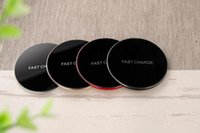 Wholesale qi charger for sale online – Four colors Fast charger Qi Wireless Charger Charging S6 Edge s7 edge s8 plus sale Fantasy High Efficiency pad