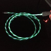 Wholesale flowing led usb charging cable for sale – best Flowing LED Visible Flashing USB Charging Charger Cable M FT Data Sync Type C Light Up Cord Lead for Samsung S7 S6 edge