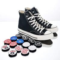 ingrosso scarpe cerchio-Designer di marca Magic Circle Canvas Skateboard Shoes Uomo Donna Replac Fashion Scarpe sportive Classic Black Sneakers bianche