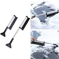 diseños de herramientas de hielo al por mayor-Remoción de nieve Vehículo 65cm diseño creativo estirable coche Quita hielo Snowbrush cepillo coche del invierno limpieza con herramienta AAA1374