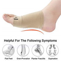 Wholesale clogs for men resale online - 108 Arch Support Sleeves Sock Comfort Gel Pad Cushions for Women Men Arch Brace for Flat Feet Plantar Fasciitis Sleeves Shoe Insert In