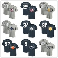 Wholesale 88 games for sale - Group buy Nathan MacKinnon Patrick Kane Pastrnak Matthews McDavid Jack Eichel All Star Game T Shirt Steel Fans Tops Tees Print