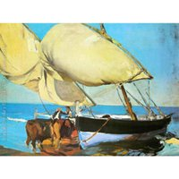 Wholesale art panels for sale online - Joaquin Sorolla y Bastida paintings for sale The sails canvas modern Landscapes art hand painted