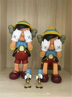 new ship toy großhandel-Kaws Smlll Lie Original Gefälschte Sitzposition Action Figure Sammlung Puppe Hot Toy New Arrvial Hot SaleFree Shipping Bearbrick