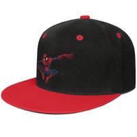 imágenes lindas gorras al por mayor-SpiderMan PNG descarga gratuita de imágenes Rojo para hombres y mujeres béisbol ala plana gorra diseñador de diseño deportes personalizados equipado lindo personalis único