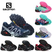 Wholesale outdoor army shoes hiking for sale - Group buy Salomon Speed Cross CS Outdoor Hiking Shoes SpeedCross Mens Women Athletics Running Sports Sneakers Drop Ship
