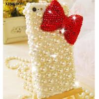 ingrosso rosso s4-vendita all'ingrosso perline di cristalli rossi perle gemme per iphone 7 6 6 s plus 5 s 5c samsung galaxy note 7 5 4 3 2 s6 edge plus s5 s4 s3