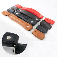 Wholesale leather repairs for sale - Group buy Luggage Replacement PU Leather Handle Fix Holders Suitcase Box Repair Accessories Pull Carry Strap