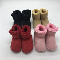Wholesale shoes boots sale for sale - Group buy Unisex Baby Snow Boots Winter Shoes for Infants Fur Boots Infants shoes for Sale M Footwear for Baby Gift Ideas Infants First Walkers