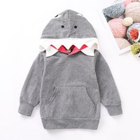 jungen patchwork hoodie groihandel-Baby-Karikatur-Hoodie-Säuglingsjungen-Karikatur-Tierart-Sweatshirt scherzt Entwerfer-Kleidungs-Jungen-beiläufiges Baumwollwarmes Top mit Tasche 06