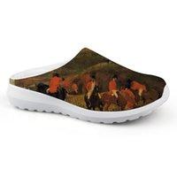 fashional ayakkabıları toptan satış-2019 Yeni Fashional Düz Sandalet Adam Rahat Rahat Yaz Terlik Edgar Degas Usta Adet Ev Plaj Su Ayakkabı
