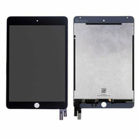 Wholesale apple tablet white for sale - Group buy 5Pcs DHL For iPad mini A1538 A1550 LCD Touch Screen Digitizer Glass Lens Tablet Panel White Black
