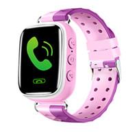 chica gp al por mayor-Q80 niños de los niños del GPS SmartWatch inteligente Reloj de pulsera 1,22 pulgadas de pantalla táctil llamada inteligente reloj SOS Hombres chica Reloj Inteligente Relogio