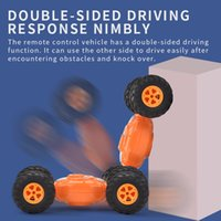 Wholesale toys year old boys resale online - Four wheel drive twister stunt car children s toy remote control rechargeable drift more than three years old boys and girls electric toys