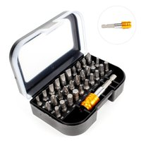 Wholesale torx head screwdrivers for sale - Group buy Multi function Screwdriver Kit Phillips Torx Pozi Hex Slotted Head Mini Screwdriver Repair Tools Bit With Hex Magnetic Holder