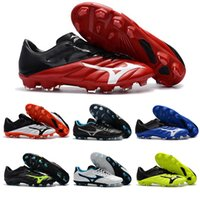 ingrosso tacchetti da calcio-Mizunos Rebula V1 scarpe da calcio per gli uomini scarpe da calcio tacchetti Basara come Wid Hot Predator scarpe da calcio Sport Sneakers taglia 40-45