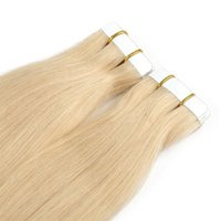 Wholesale skin weft hair extensions for sale - Unprocessed raw A price Pu glue virgin skin weft seamless tape in hair extensions human hair with blond color
