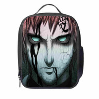 Wholesale insulated purple lunch bag resale online - Naruto Lunch Bag Customized dog Women Men Teenagers Boys Girls Kid School Thermal Cooler Insulated Tote Box
