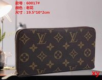 Wholesale wallet cell phone compartment online – custom Hot sale and fashion ladies single zipper cheap wallet designer women pu leather wallet lady ladies long purs