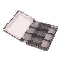3ds xl cases achat en gros de-28in1 cartes de jeu en plastique dur portent la boîte de rangement titulaire de protection pour Nintendo NDS 2DS NDSL NDSI nouvelle 3DS LL / XL 3DSXL / 3DSLL