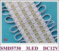 hafif asya toptan satış-RONGJIAN (RJ) enjeksiyon LED ışık modülü için kanal mektubu SMD 5730 LED modülü DC12V 0.8 W 3 ABD ve Asya için 78mm * 12mm led