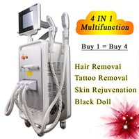 Wholesale anti wrinkle hair removal for sale - Group buy 4 IN rf wrinkle removal acne treatment face lift ipl hair removal skin tightening tattloo removal
