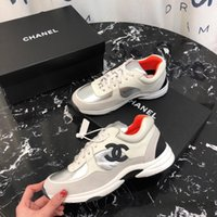 Wholesale custom high heeled shoes resale online - 2019w limited edition luxury ladies casual shoes high end custom leather fashion wild outdoor sports shoes size