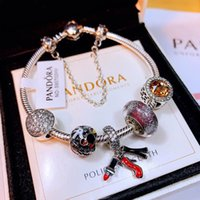 Wholesale New Design mm Lave Stone Beads Gold Silver Rose Plated Lion Owl Best Gift Bracelets