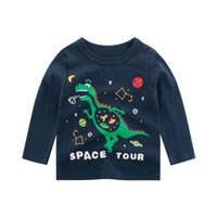 Wholesale boys long sleeve cartoon shirt for sale - Group buy Oeak Boy T shirt Kid Long Sleeve Cartoon Pattern Tops Tees Children Spring T Shirt Fashion Baby Cotton Blouse Casual Clothes