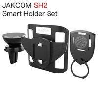 Wholesale smartphone docking online – JAKCOM SH2 Smart Holder Set Hot Sale in Cell Phone Mounts Holders as type c docking iman movil coche smartphone car holder
