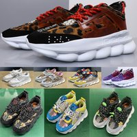erkekler hafif ayakkabılar toptan satış-Zincir Reaksiyonu adam Rahat üçlü Tasarımcı Sneakers Spor Moda erkekler Ayakkabı kadın Eğitmen Toz Torbası Ile Hafif Bağlantı Kabartmalı Taban