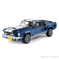 Ford Mustang GT Creator Set Compatible 10265 Muscle Car Building Blocks