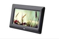 vidéos de produits achat en gros de-Produits multifonctions de lecteur vidéo de service de jeu automatique d'OEM et d'ODM de cadre numérique de photo de 7 pouces