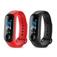 reloj smart оптовых-MI группа 3 смарт-группа браслет сердечного ритма часы деятельность фитнес-трекер pulseira Relógios reloj inteligente PK fitbit XIAOM STY154