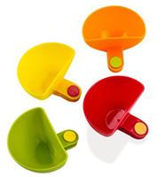 schüsselhalter clip großhandel-Dip-Clips Tellergreifer Clip-on-Dip-Halter Tomatensauce Dip Bowl Party Ware