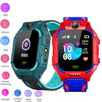 Wholesale Smart Watch Kids Q19 Baby Watch LBS Kids SOS Camera Phone PK Q02 Smartwatch Kids Children s Watch Gifts