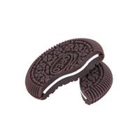 bi metal toptan satış-Sihirli Hileler Geri Bisküvi Cyril OREO Bite Cookie Komik Oyuncak OREO Bite Out Çerez Close-Up Hileler Sahne