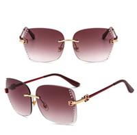 lente de aviador al por mayor-Millonario Moda lentes de las gafas de sol deslumbrantes drivi Polarizerd letra de unidad gafas de sol para hombre mujeres aviador gafas de sol F2fendi