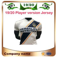 Wholesale soccer player ibrahimovic jersey resale online - 2019 Player version MLS Los Angeles Galaxy Soccer Jersey Home IBRAHIMOVIC Soccer shirt ALESSNDRINI LLETGET Football uniforms