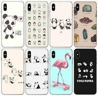 Wholesale yoga pro case for sale - Group buy TongTrade Panda Yoga Black Case For iPhone Pro Max X XS s s s Galaxy J2 J7 S10 S9 Huawei G Play Mini LG K8 Fashion Case